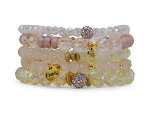 ERIMISH  -  LEMONADE STACK BRACELET SET