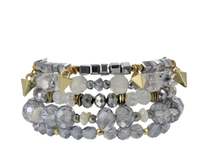 ERIMISH  -  TINSEL STACK BRACELET SET