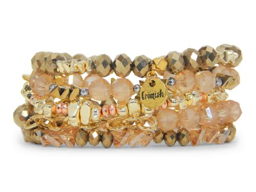 ERIMISH  -  GINGERBREAD STACK BRACELET SET