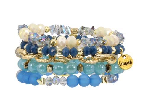 ERIMISH  - BLUEBERRY STACK BRACELET SET