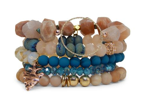 ERIMISH - JEWELL STACK BRACELET SET