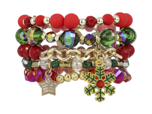 ERIMISH JINGLE  STACK BRACELET SET