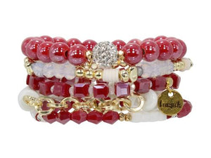 ERIMISH  - LOVE BIRD STACK BRACELET SET