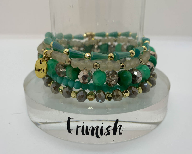 "ERIMISH  -  ""Black Friday Special"" -  MOUNTAIN MEADOW STACK BRACELET SET"