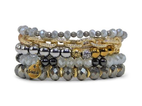 ERIMISH - METALS LIGHT STACK BRACELET SET