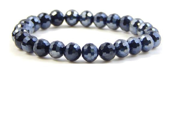 "Erimish ""Navy"" Stackable Bracelet"