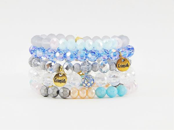 Erimish - Passion Fruit Stack Bracelets