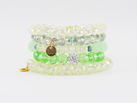 ERIMISH - PINEAPPLE STACK BRACELET SET