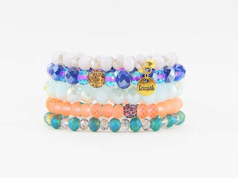 Erimish Pop Rox Stack Bracelet Set