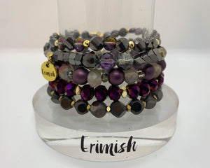 ERIMISH  - ROYAL FLUSH STACK BRACELET SET