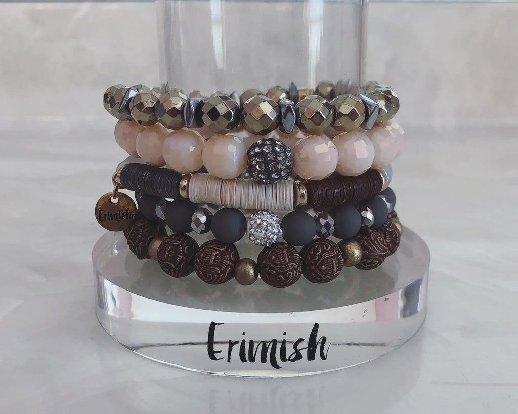 ERIMISH  -  SANDY STACK BRACELET SET