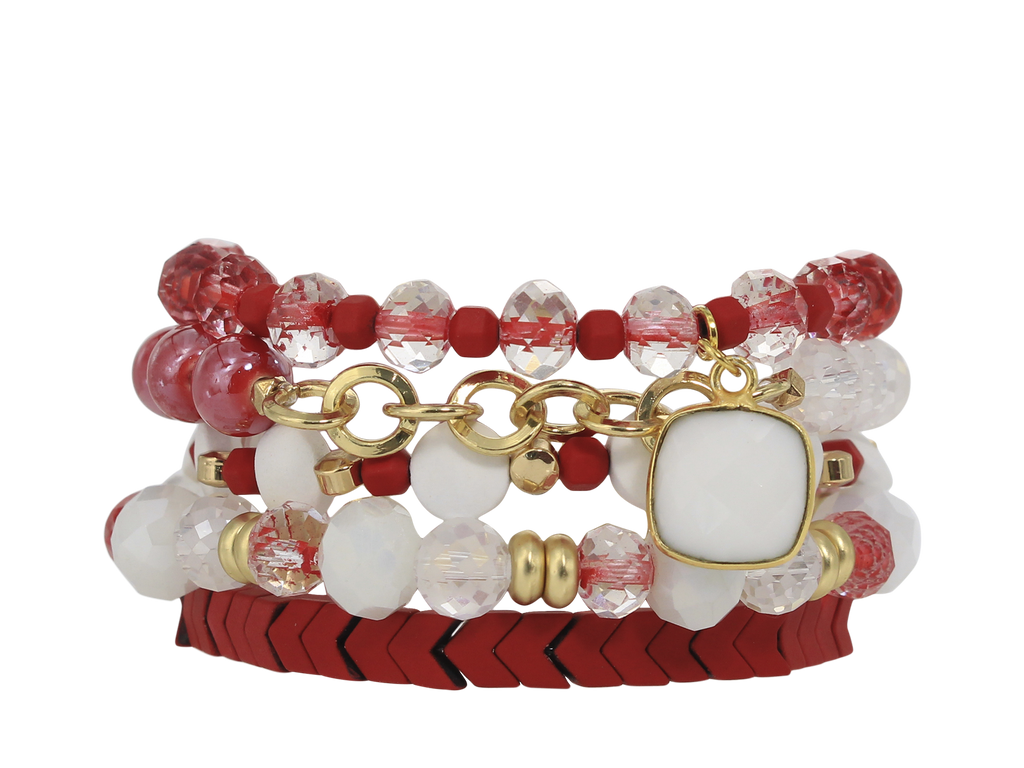 ERIMISH  -  GEM STACK BRACELET SET