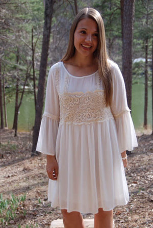 Follow Your Dreams - Ivory Dress