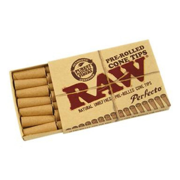 Raw Pre-Rolled Cone Tips