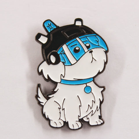 Snowball Hat Pin