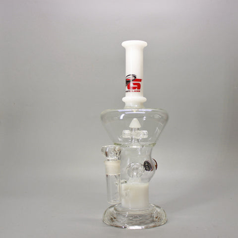 "Typhoon Glass ""The Scientist"" Water Pipe"