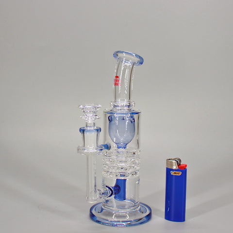 Canna Fornia Glass Stone Wall Water Pipe