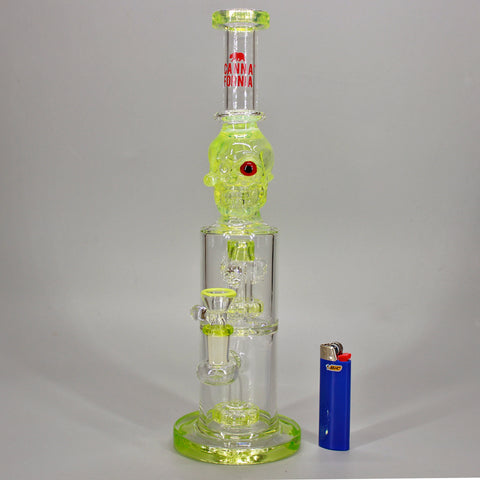 Canna Fornia Glass Crypt Keeper Water Pipe
