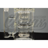 Climax Glass - 14mm ShowerHead to ShowerHead Water Pipe - Climax Smoke Shop