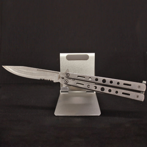Silver Butterfly Pocket Knife