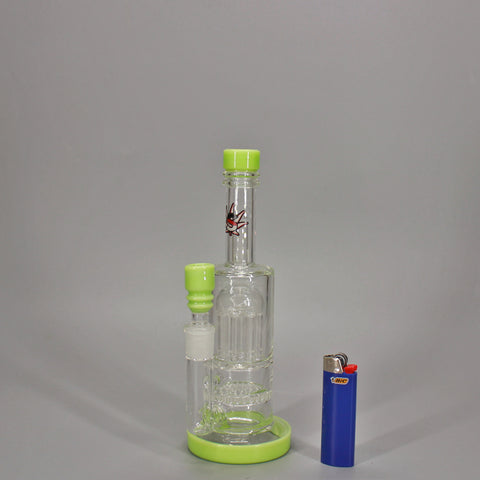 Gras German Glass Nug Gobbler Water Pipe