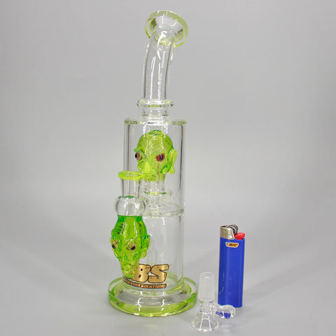 UBS Glass Alienator Water Pipe