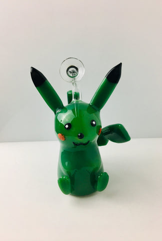 Green Pikachu Bubbler