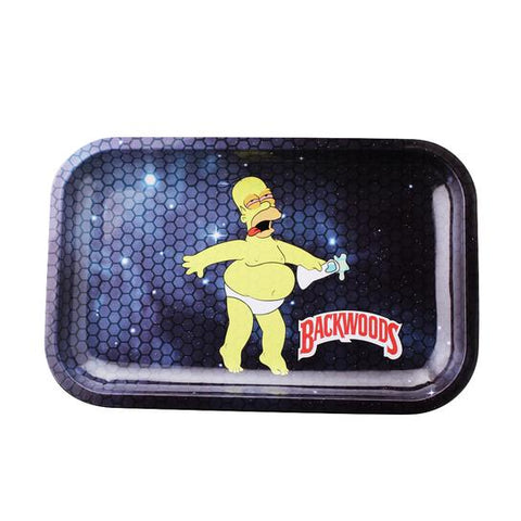Backwoods Homer Simpson in Space Rolling Tray