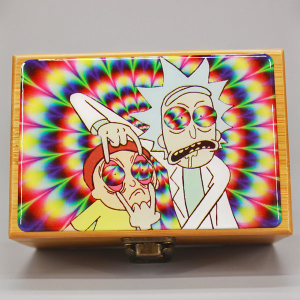 Cali Factory Rick & Morty Small Bamboo Box Kit