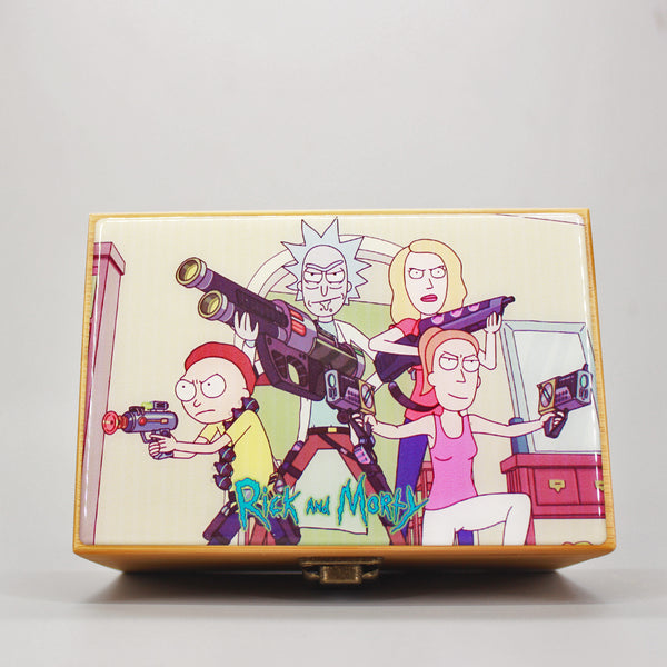 Cali Factory Rick & Morty Medium Bamboo Box Kit