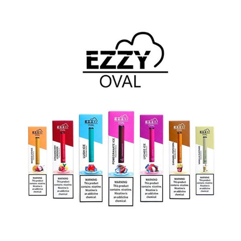 EZZY OVAL SALT NICOTINE DISPOSABLE POD DEVICE