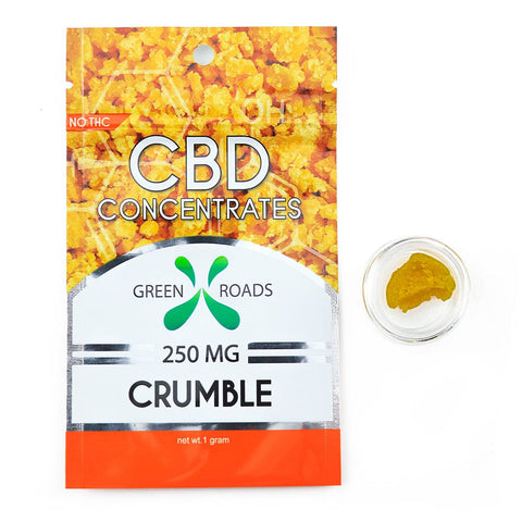Green Roads CBD Concentrate - 250 mg Crumble