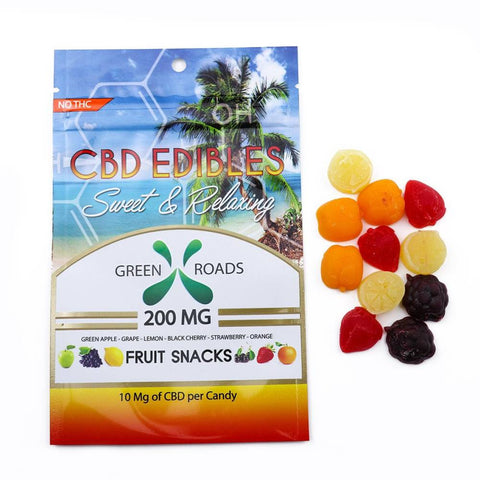 Green Roads CBD Fruit Snacks 200mg - Assorted Flavors
