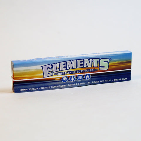 Elements Connoisseur King Size - (33 per book)