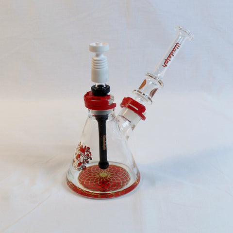 illadelph - Convertable Rig Set, illadelph Bowl Piece, and Santa Cruz x illadelph Grinder