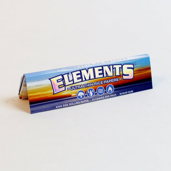 Elements King Size - (33 per book)