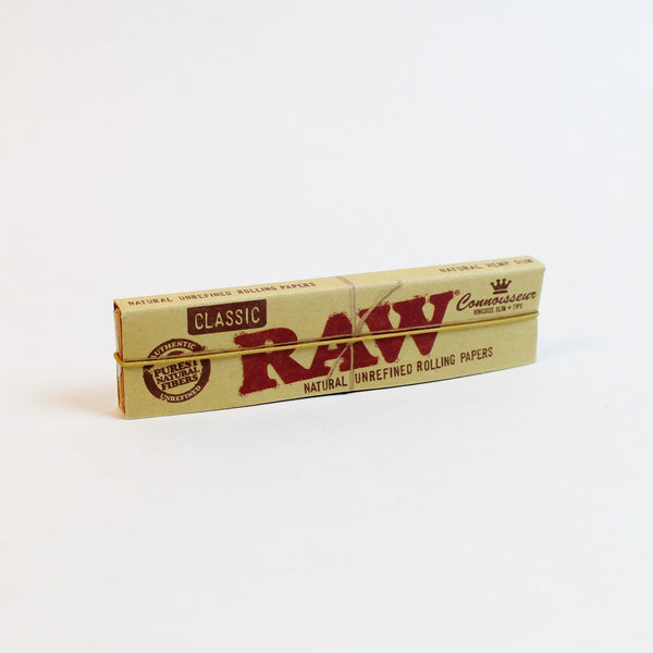 RAW Classic Connoisseur King - (32 per book)