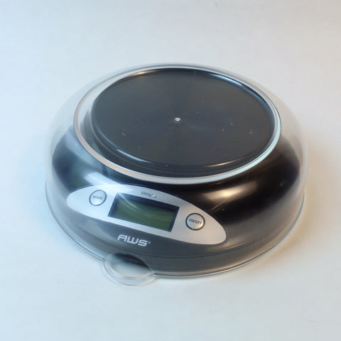 AWS Bowl Scale 5000g x 0.1g - Black