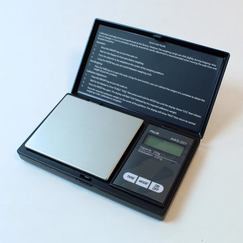 AWS 201 Scale 200g x 0.01g - Black