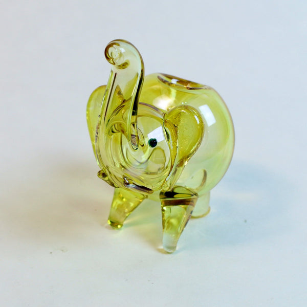 Fumed Elephant - Glass Hand Pipe