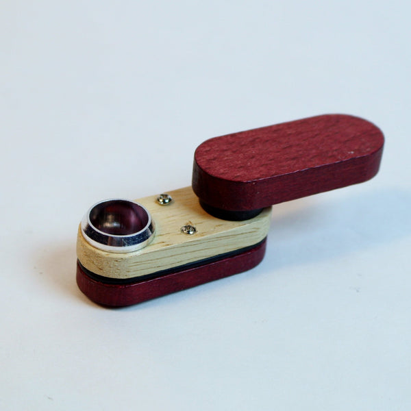 Wood Monkey Pipe - Small