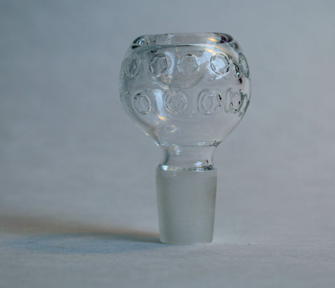 Bowl w/ Clear Circles - 18mm