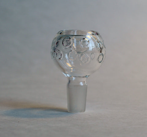 Bowl w/ Clear Circles - 14mm