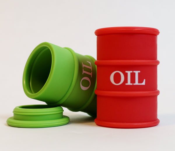 Oil Barrel Silicone Jar - Climax Smoke Shop