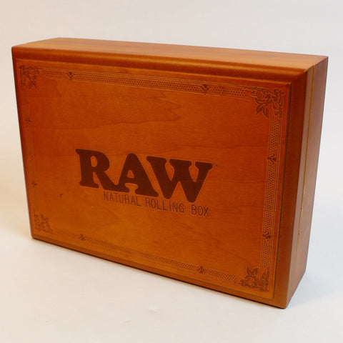 Raw Wooden Box - Large