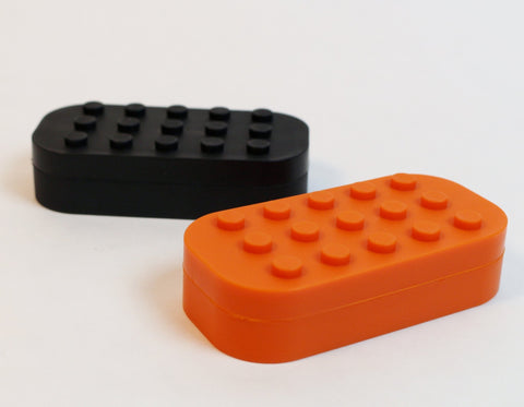 Stackable Multi-Chamber Silicone Container