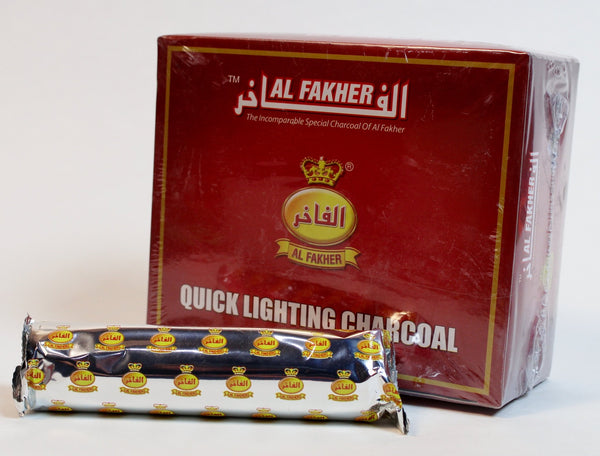 Al Fakher Large Quick-Light Coals - 40mm