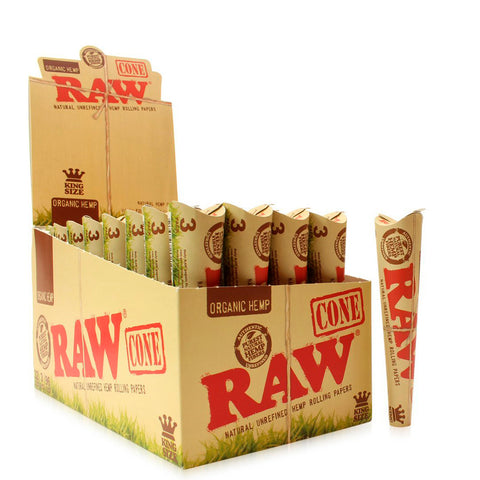Raw Organic Cones King Size - (3 pack)