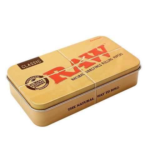 Raw Metal Tin - Rectangle