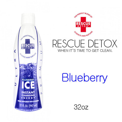 Rescue Detox ICE Blueberry- 17oz
